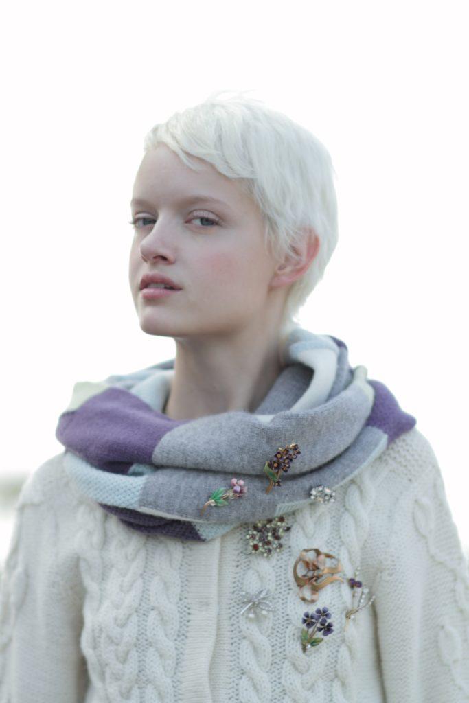 2011 porter des boutons 外国人モデル 女性 シンプル