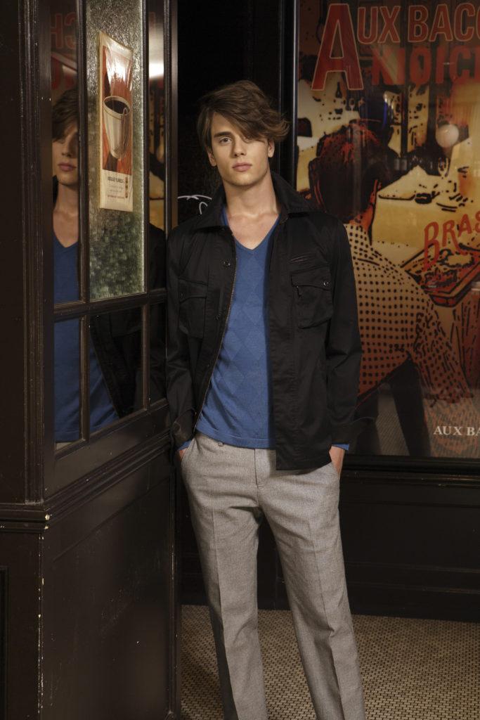 2008  NOLLEY'S  メンズ ノーリーズ 外国人モデル